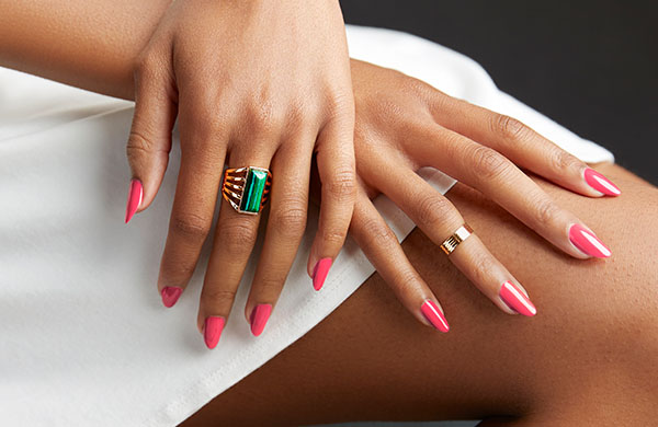 Gel Nails Create Beautiful and Feminine Hands